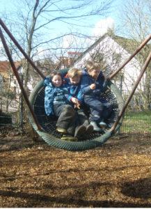 Spiel und Spaß im Gartenbereich I