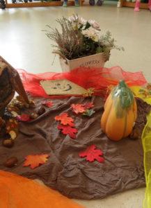 Herbst im Kindergarten