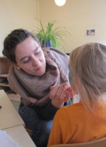 Schminken im Kindergarten