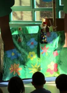 Read more about the article Kasper bei Schlafanzugparty im Kindergarten