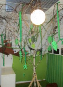 Sonnengruppe bekommt einen Baum