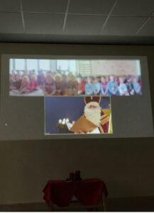 Digitaler Nikolaus im Kindergarten