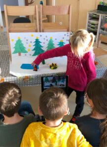 Read more about the article Blitzkids drehen Weihnachtstrickfilm