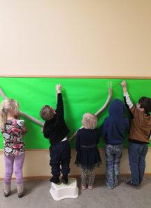 Murmelbahn im Kindergarten